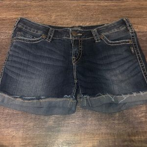 Women's Silver shorts